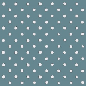 Blue Polka dotted Fabric