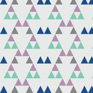 Quiver Full of Arrows Triangles 2 Purple Green and Gray